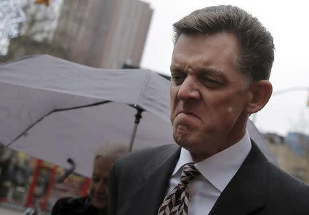 FILE PHOTO: Scott Tucker exits the Manhattan Federal Court in New York