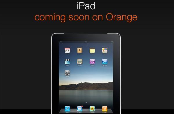 Orange UK prices 3G iPad at £199 on two-year contract, taking pre-orders today