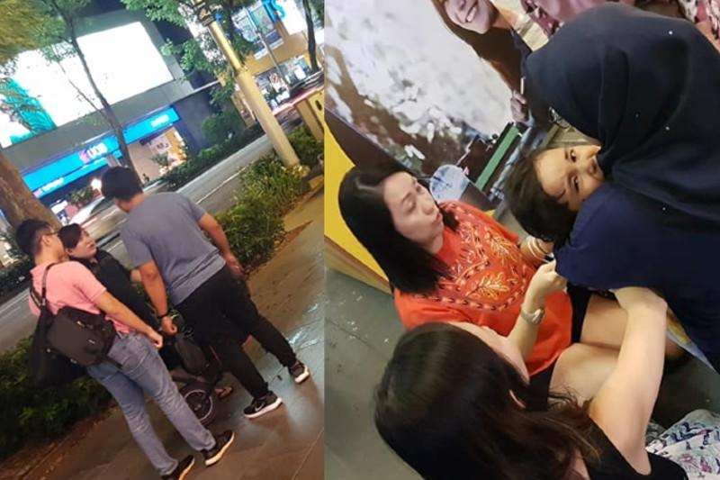 Epic fail: E-scooter driver hits child on Orchard Road pavement, then proceeds to fight with his father
