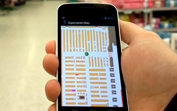 IndoorAtlas uses disturbances in the (geomagnetic) force to map interiors, plot a path to aisle 3 (video)