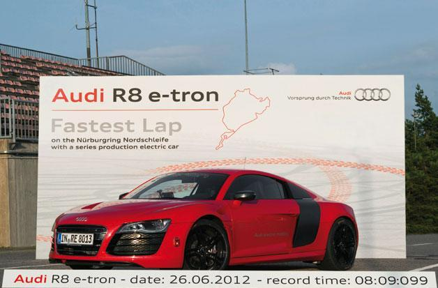 Audi R8 e-tron won't see public sale, will be used for internal evaluation only
