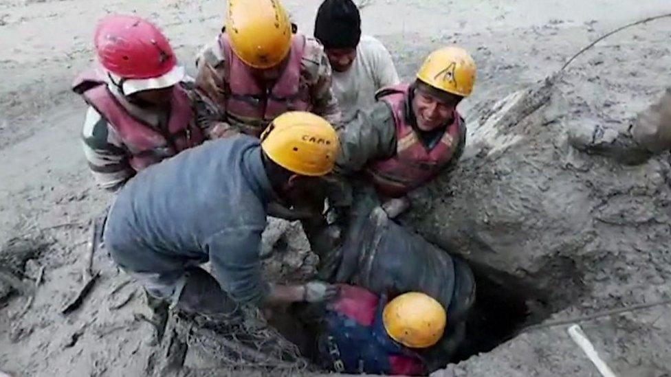 Chamoli disaster: 'It hit the valley floor like 15 atomic bombs'