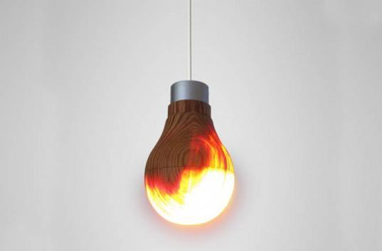 Inhabitat's Week in Green: Jake Dyson's lamp, wooden light bulbs and weed-killing lasers