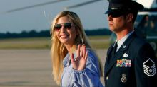 Ivanka Trump Keeps Her Feet Cool in Comfy Strappy Sandals With Her Kids in Matching Tops