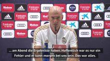 Fehlerhafter Test: Zidane erklärt Vinicius' Fehlen