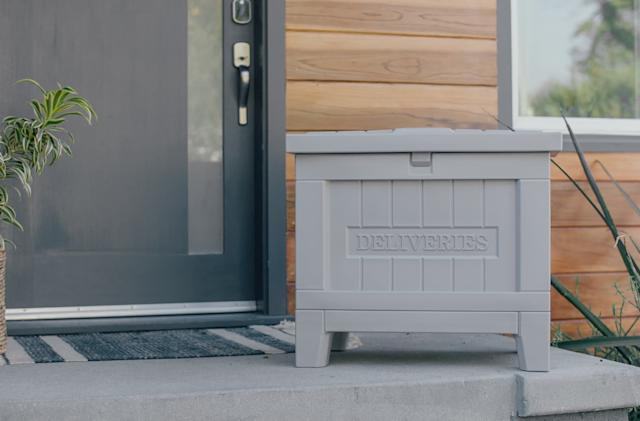 Yale Home aims to fend off porch pirates with its smart delivery box