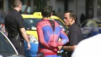 'Spider-Man' Strikes in Hollywood Robbery