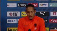 "Pays-Bas - Van Dijk : ""En dessous de notre niveau"""