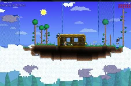 Terraria PC update to add pretty waterfalls, clouds