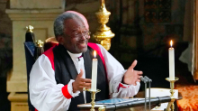 'I thought the invite was an April Fools' joke!' Royal Wedding preacher reflects on the big day
