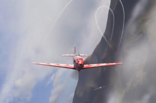 World of Warplanes teaches you how to do a canopy roll
