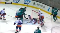 Kevin Poulin robs Marleau with sprawling save