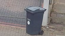 This optical illusion of a wheelie bin is driving people insane