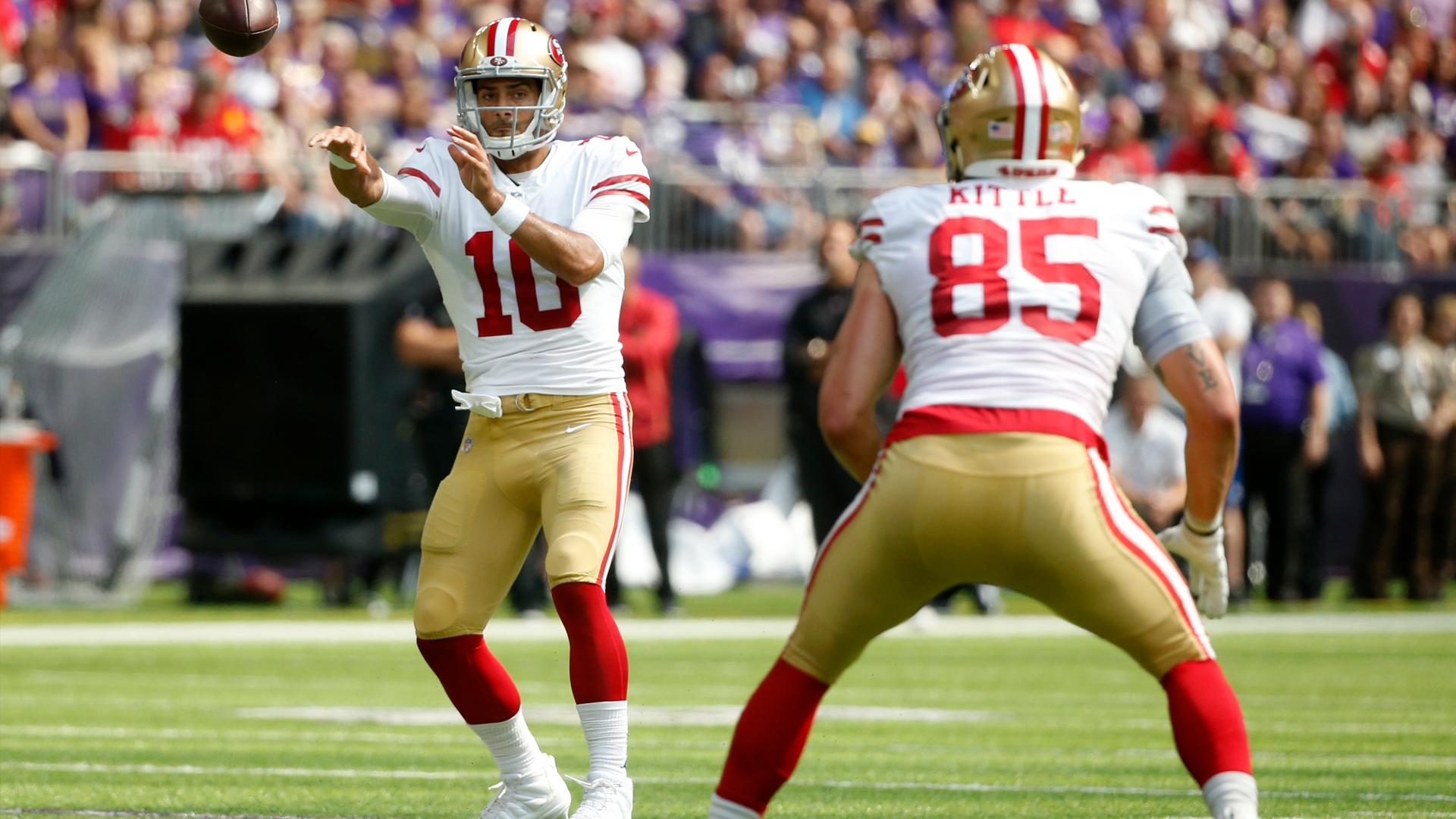 George Kittle Says Jimmy Garoppolo Dared Him To Recruit