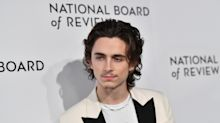 Fans threatening to 'call the police' over Timothée Chalamet's teeny tiny moustache