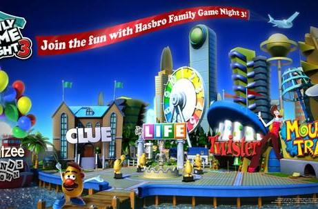 Hasbro Family Game Night 3 coming this fall with five more board games