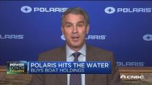 Polaris buys Boat Holdings in $850M all-cash deal