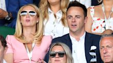 Ant McPartlin makes first public appearance with former PA girlfriend at Wimbledon