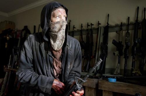 Melissa McBride as Carol in AMC's The Walking Dead. (Photo Credit: Gene Page/AMC)