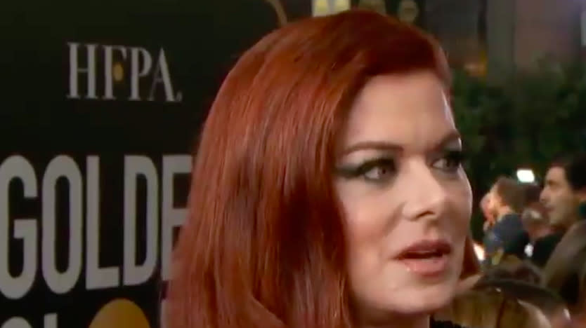 Debra Messing Blasts E! For Wage Inequality During E! Interview