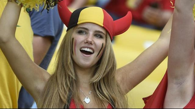Belgian World Cup Fan Offered a Modeling Contract