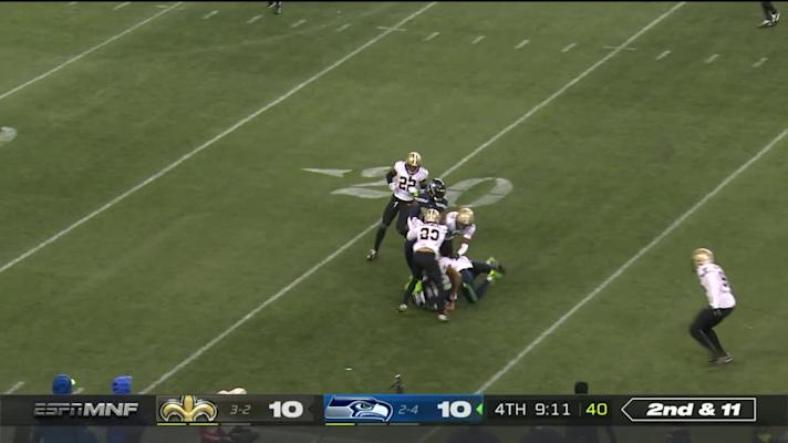 Saints vs. Seahawks highlights Week 7
