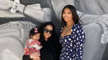 Vanessa Bryant Poses With Kobe And Gianna Mural: 'Smile Though Your Heart Is Aching'