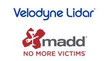 Velodyne Lidar, MADD Partner to Advance Understanding of Autonomous Vehicle Technology