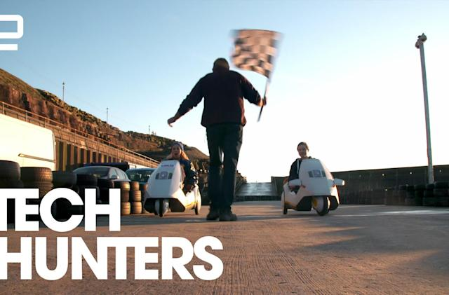 Tech Hunters: Feeling the need for speed with the Sinclair C5