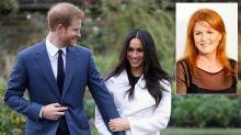 Sarah Ferguson to attend Prince Harry and Meghan Markle's wedding