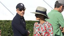Matt Lauer photographed with Annette Roque in rare sighting amid reports they reached $20 million divorce settlement