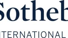 Sotheby's International Realty Brand Ranks Among Nation's Best in REAL Trends/The Wall Street Journal Report