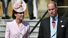 Duchess of Cambridge wears McQueen for Buckingham Palace garden party