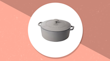 Deal of the Day: Amazon is having a huge sale on Cuisinart cast iron casserole and chicken fryers—today only!