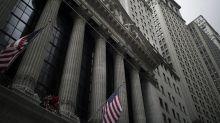 Stocks climbing ahead of Powell speech