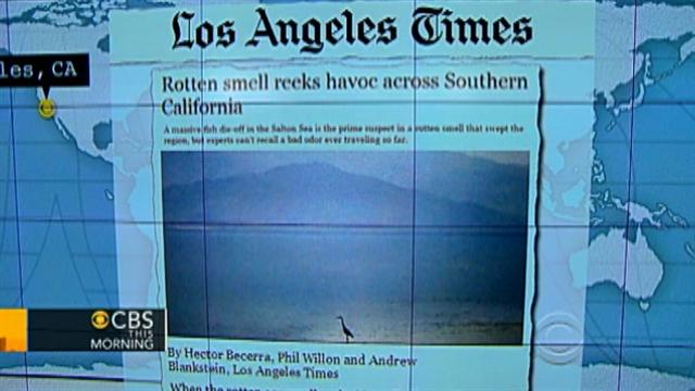Headlines: Rotten smell in Southern California