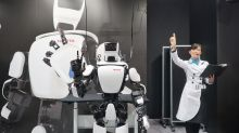 Kollege Roboter kommt