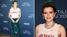 Bella Thorne sports inches of armpit hair on the red carpet