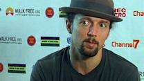Jason Mraz helps anti-trafficking fight in Burma