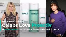 11 Celebs You (Probably) Forgot Starred in Proactiv Commercials