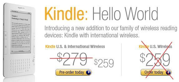 Amazon's international Kindle surprises owners with $20 refund, limited web browsing