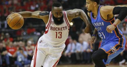 Basket - NBA - Les Houston Rockets éliminent l'Oklahoma City Thunder d'un Russell Westbrook trop seul