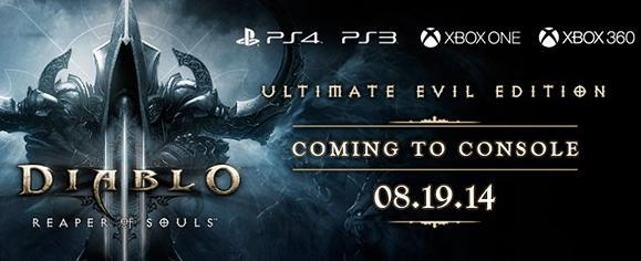 Diablo III: Reaper of Souls comes to consoles in August
