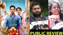 Watch Video: Here's How the Public Has Reacted To Ayushmann Khurrana Starrer- Badhaai Ho!