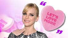 XOXO: Celebs Reveal the Phrase They Would Write on a Conversation Heart