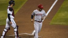 Barnhart's two-out single leads Reds over D-backs 6-5 in 10