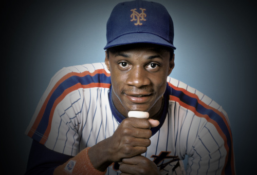 Darryl Strawberry, seen here in the 80s, says he used to have sex between innings of baseball games. (Getty Images)