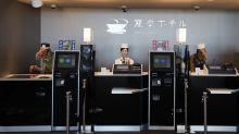全球首間機械人酒店 將逐漸減少機械人員工