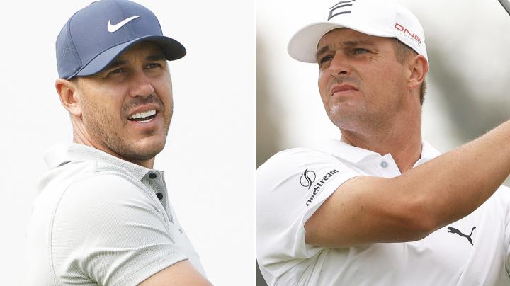 Bryson DeChambeau and Brooks Koepka take ugly feud to US Open