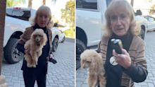 'You're acting like Black people': Woman's racist rant over 'dog attack'
